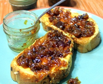 BOURBON BACON ONION JAM New Orleans Spicy Cajun Style