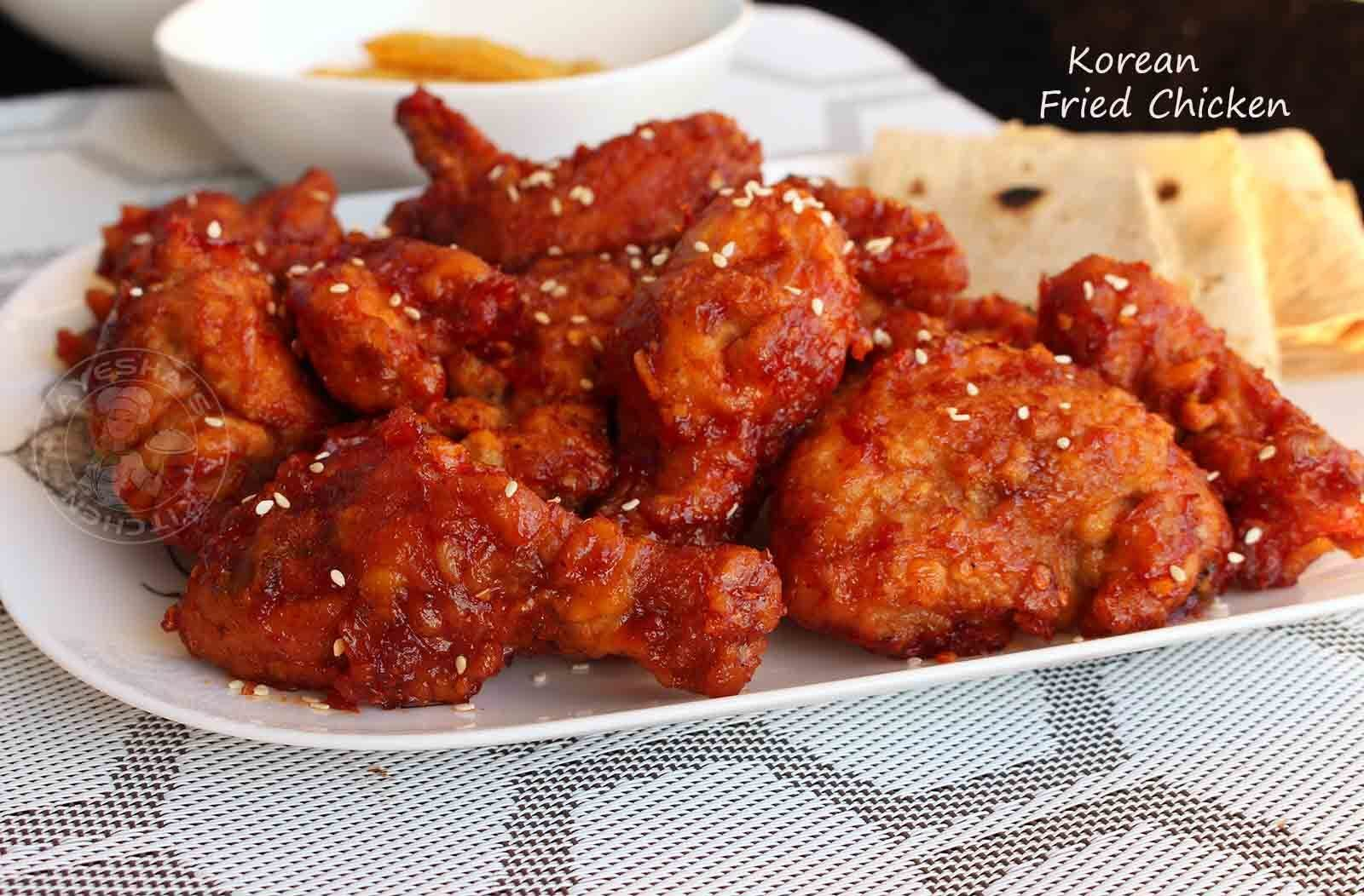 BEST FRIED CHICKEN RECIPE - KOREAN FRIED CHICKEN