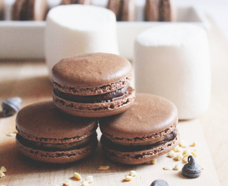 Rocky Road Macarons