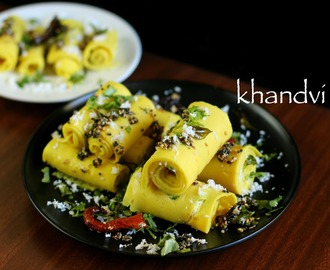khandvi recipe | how to make gujarati khandvi in pressure cooker