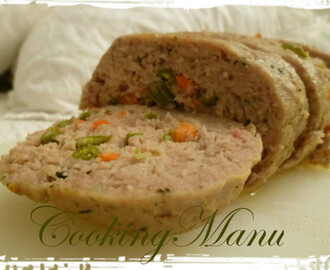 Polpettone ai Fagiolini e Carote (Meatloaf with Green Beans and Carrots)