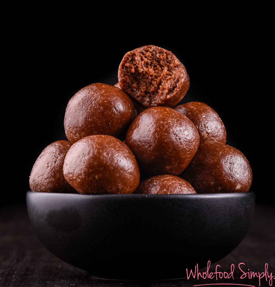 Choc PB Cookie Dough Bliss Balls