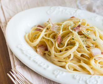 Spaghetti carbonara: easy comfort food