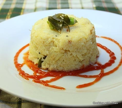Rava Upma Recipe- How to make Upma- Quick Breakfast