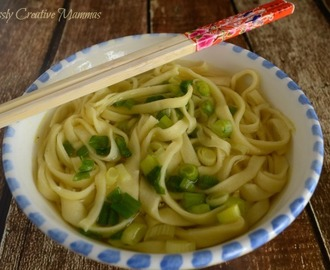 Homemade Chinese Noodles #FoodieExtravaganza