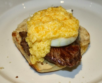 Steak and Eggs Benedict - The Breakfast Club