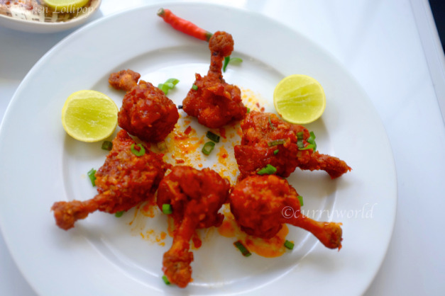 Chicken Lollipops(Schezwan Style)
