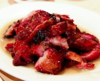 Roasted Pork Shoulder with Homemade Plum Sauce