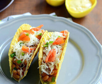 Easy Vegetarian Tacos Recipe With Baked Beans