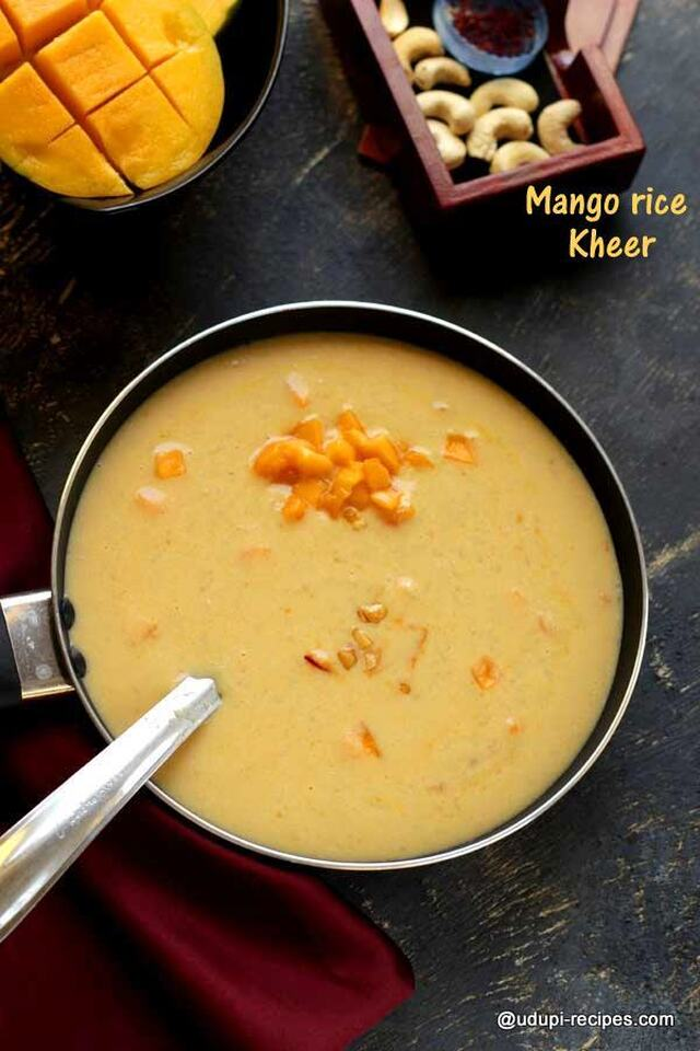 Mango Rice Kheer Recipe | Wonderful Dessert