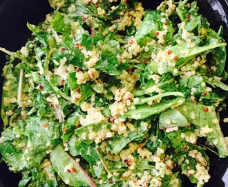 Simple Greens and Quinoa Salad
