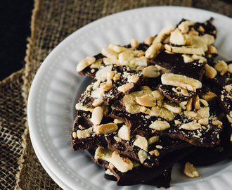 Chunky Monkey Chocolate Bark