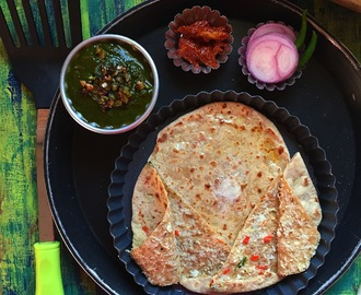 Gobi Paratha | Cauliflower Paratha | Stuffed Indian Flat Bread | Breads of India by Masterchefmom