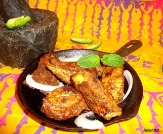 Baked Fish Recipe / Indian Style Baked Fish Recipe