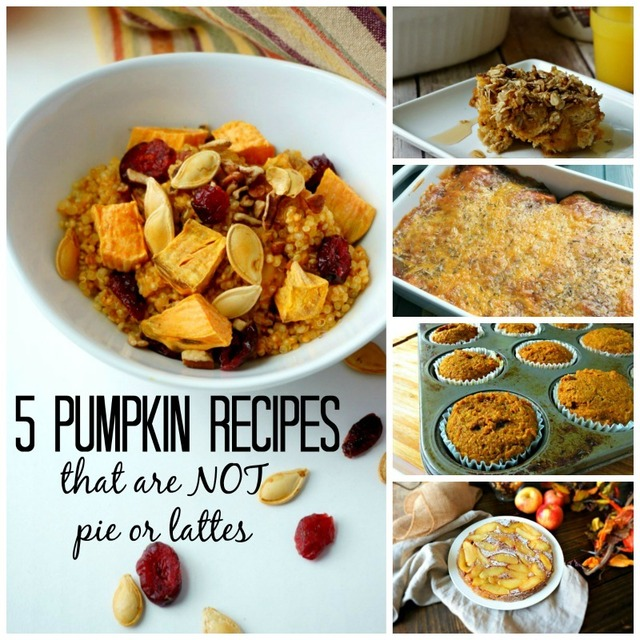5 Must Try Pumpkin Recipes That Are Not Pie
