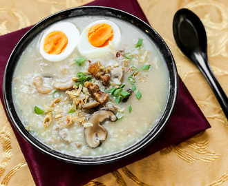 Pork and Dried Shrimp Congee
