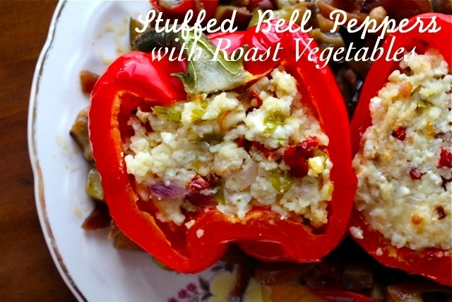 Roasted and Stuffed Vegetables Coupled