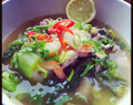 Thai Chicken soup ...Rapid fitness friendly