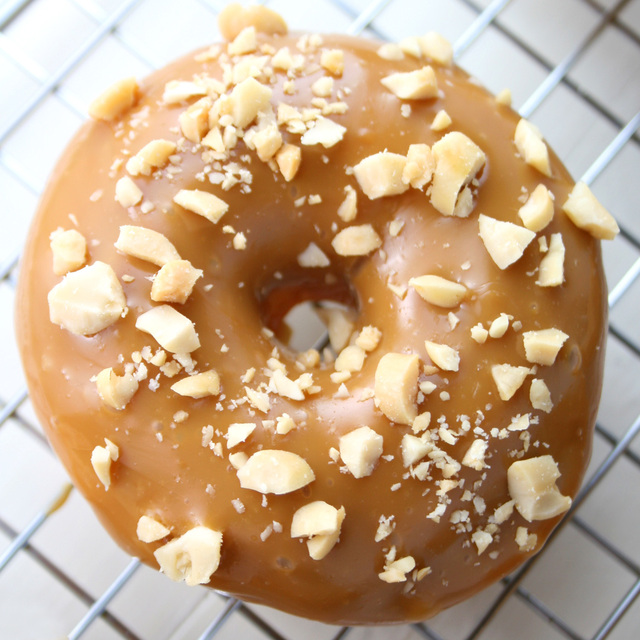 Caramel Apple Donuts