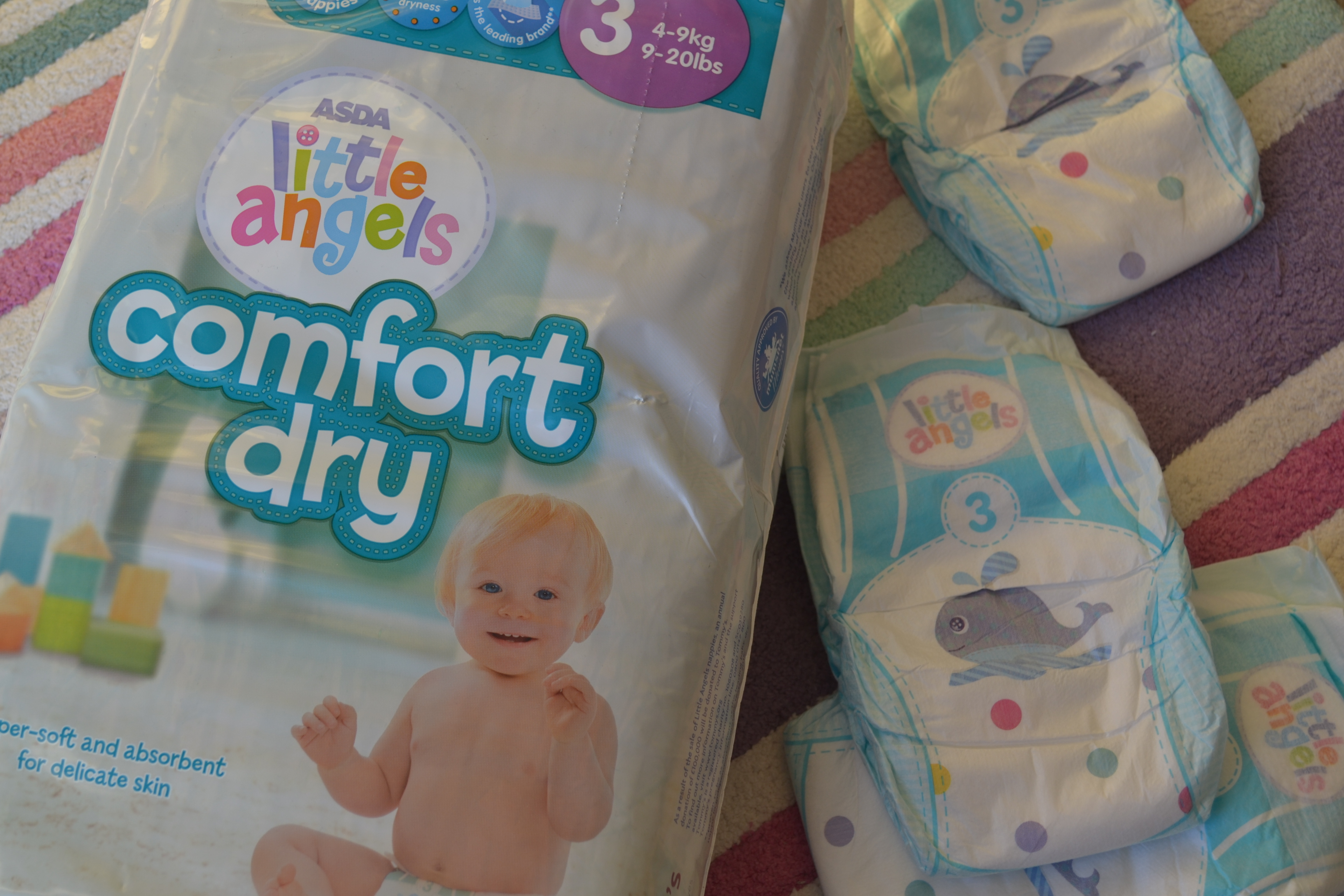 Review: Asda Little Angels Comfort Dry