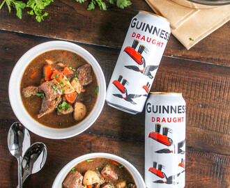 Guinness Stew with Beef and Mushrooms