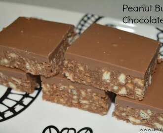 Peanut Butter and Chocolate Slice