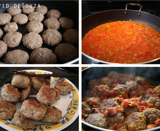 Spicy Indian Meat Ball Curry Recipe