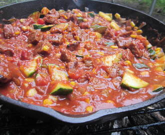 I've Seen Fire (and I've Seen Rain) Skillet Chili