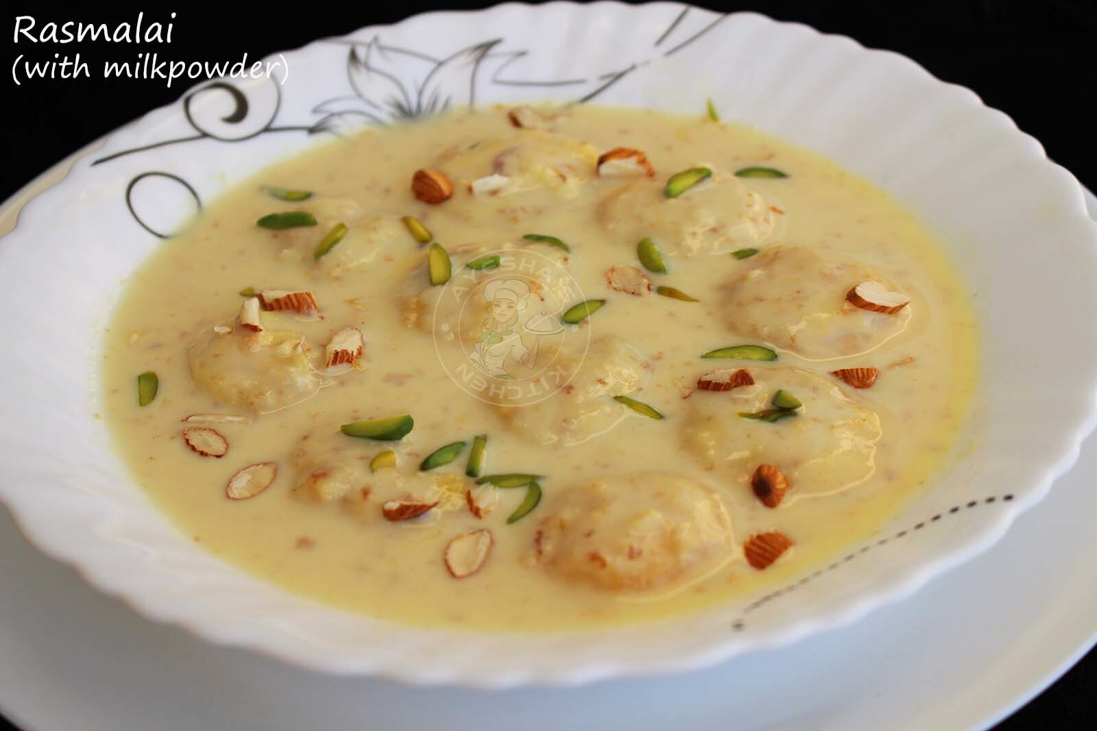 INDIAN DESSERT RASMALAI - MILK POWDER RECIPES