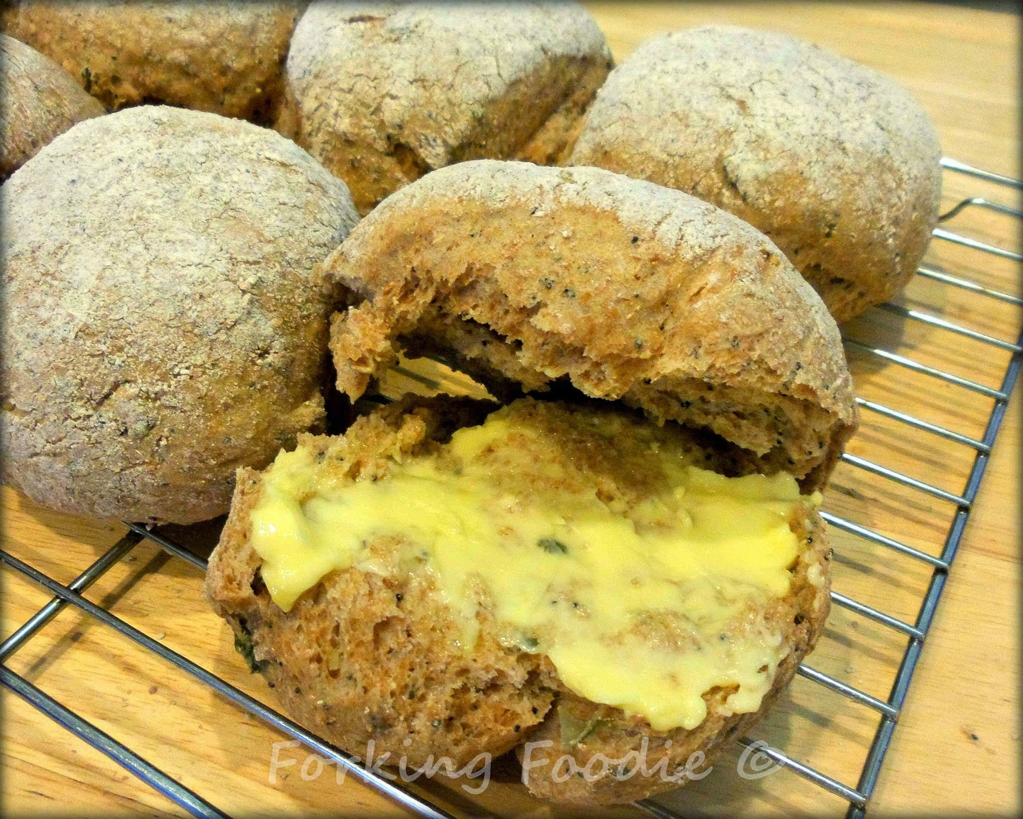 Spelt and Honey Bread Rolls - includes Thermomix Method