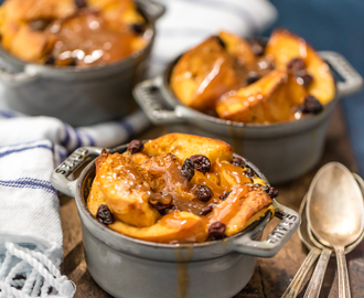 Irish Bread Pudding with Whiskey Caramel Sauce