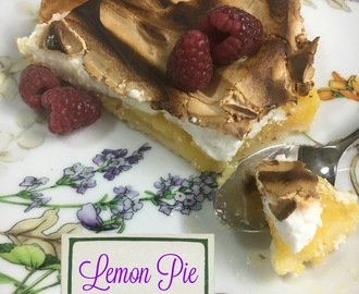 Tarta De Limón O Lemon Pie