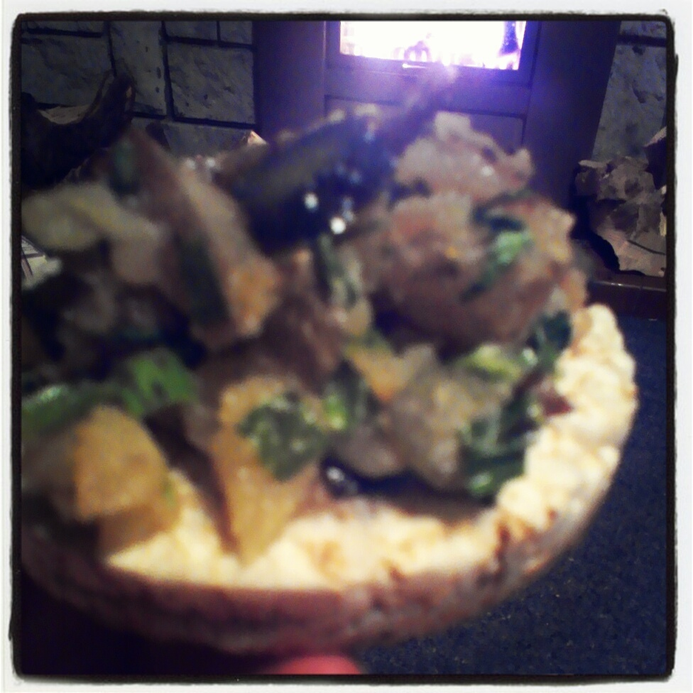 Herb & Gherkin Potato on Rice Cakes