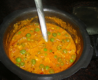 Green peas masala Curry