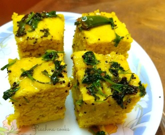 Khaman Dhokla — Step-by-step Recipe