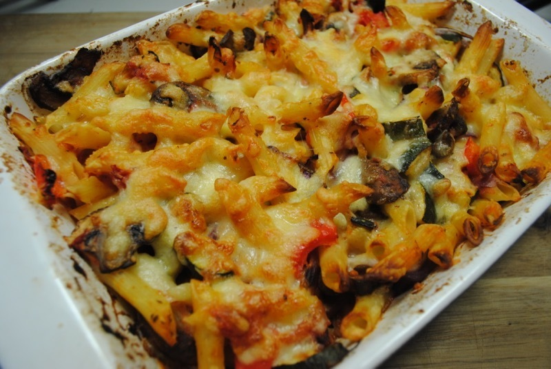 Easy Vegetarian Pasta Bake Recipe