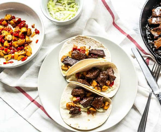 Mexicaanse steak tacos