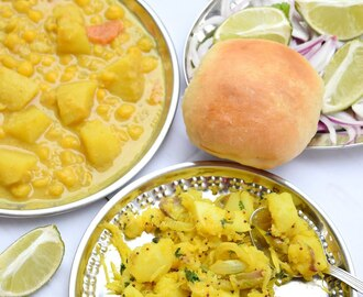 Mix Bhaji Pav (Goan Special breakfast)