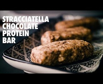 Gymgrossisten Kitchen - Stracciatella Chocolate Protein Bar