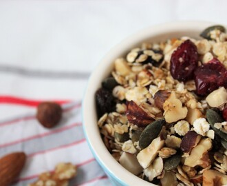 Simple Gluten-Free Granola Recipe