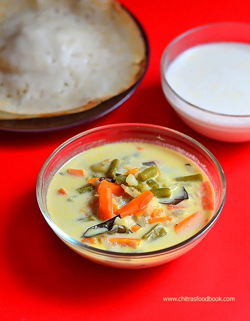 Kerala Vegetable Stew | Ishtu Recipe – Side Dish For Appam, Idiyappam
