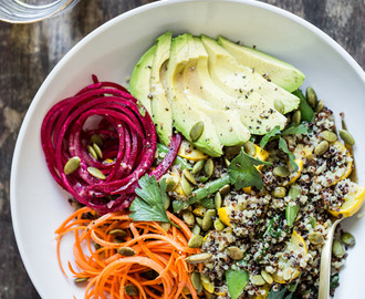 Summer Glow Buddha Bowl + News!
