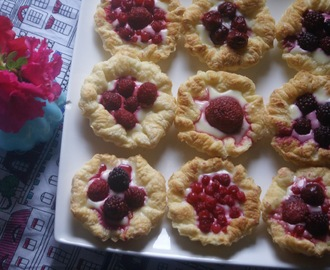 Summer Produce Mini Tarts