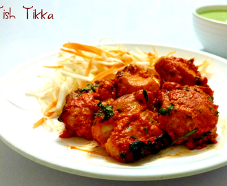 Fish Tikka Recipe