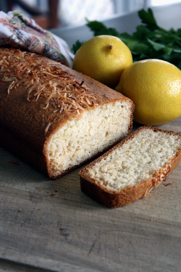Zesty Coconut Bread