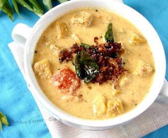 Chena Thenga Aracha Curry/Yam Coconut Curry