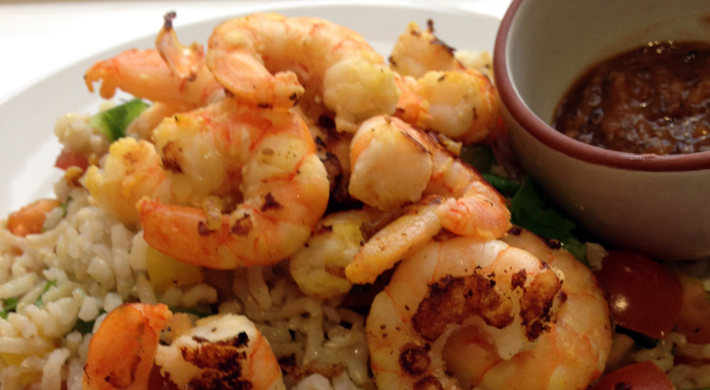 Recipe: Peanut Butter and Lime Prawns