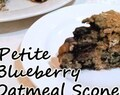Petite Blueberry Oatmeal Scones