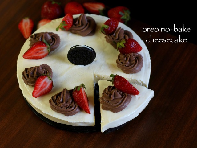 oreo cake recipe | oreo cheesecake recipe | no bake cheesecake recipe