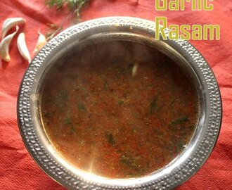 Garlic rasam – How to make garlic rasam recipe (south indian poondu rasam) – rasam recipes